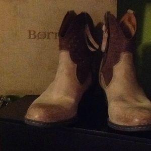 Born Ankle Cowboy Boot